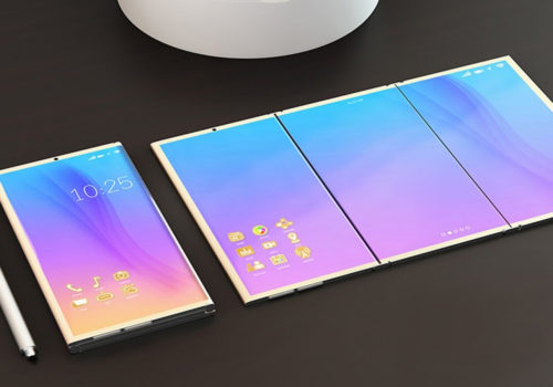 The new frontier for smartphones? The folding screen