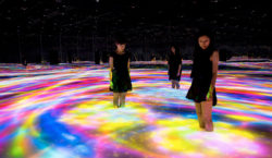 Inside the Digital Art Museum of Tokyo for a total…