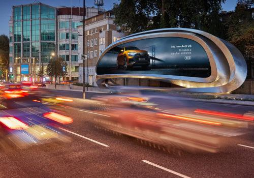 A Londra arriva l'advertising di ultima generazione firmato Zaha Hadid Design