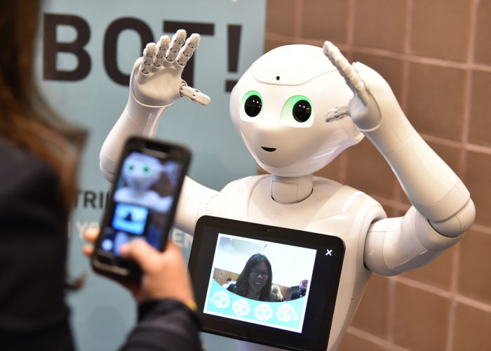 "The ""short"" journey between man and robot"
