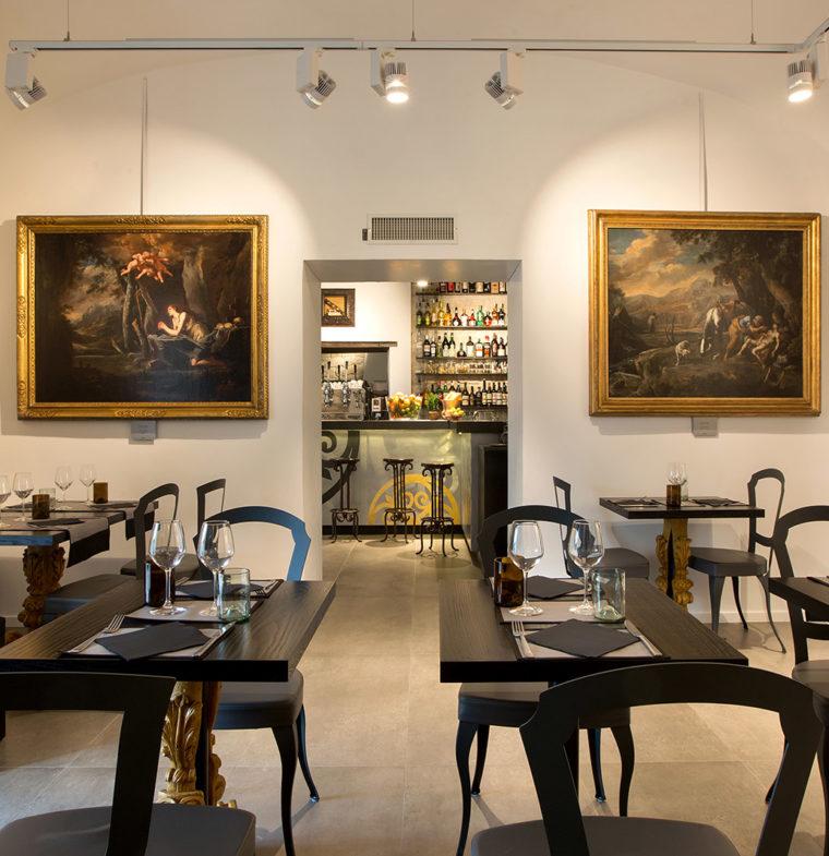Le forme del bello nell'offerta di Art Baroq Bistrot a Napoli