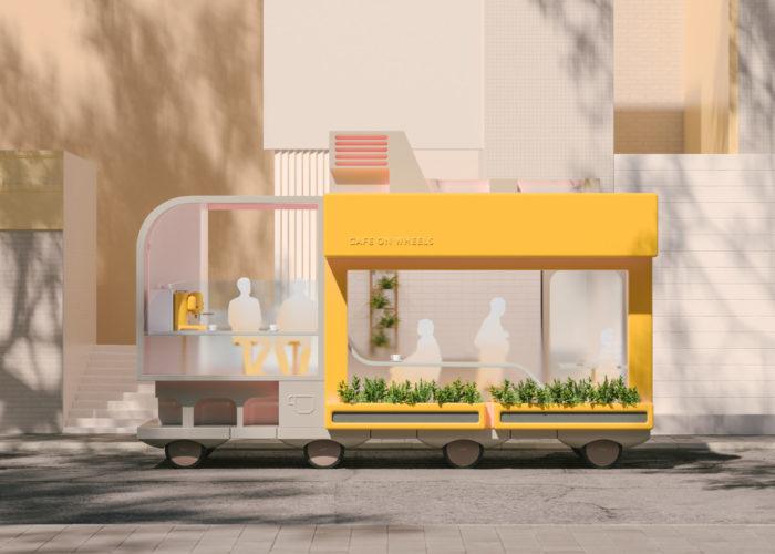 Non solo guida autonoma: il progetto Playful immagina gli Spaces on Wheels