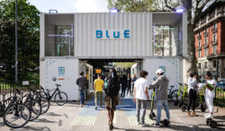 Electric mobility and green energy at the Fuorisalone: pit stop…