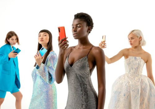 "Anna Yang designs the capsule collection ""suggested"" by the Fashion flair app"