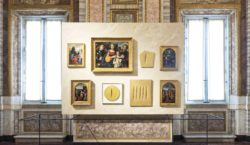 The Galleria Borghese opens its spaces to Lucio Fontana