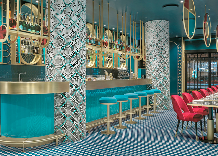 Luxury, design and cuisine for Lion, a restaurant and cocktail bar in Rome