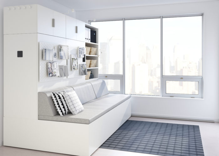 Arredamento robotico? La sfida di Ikea con Ori Living a partire da micro-case da 8mq