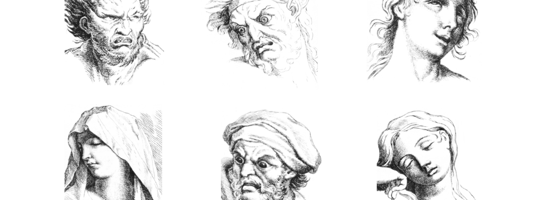 A Torino in mostra la fisiognomica: dalla linea alle emoji, da Leonardo ad oggi