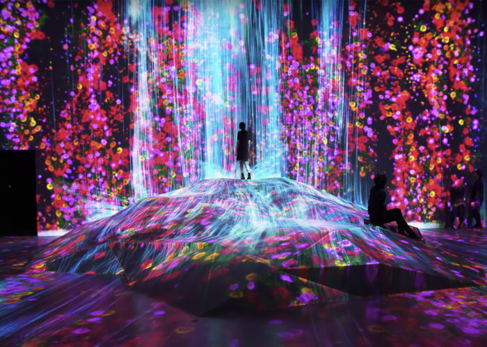 Where art takes life with a touch. First anniversary of the Digital Art Museum in Tokyo