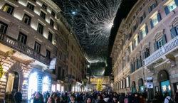 Il Natale di Roma si allestisce con luminarie a led…