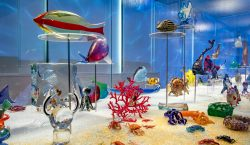 Rosenberg's magnificent glass menagerie, on exhibit in Venice