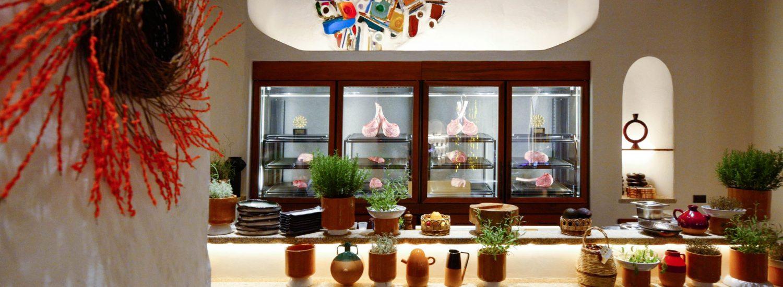 Cala di Volpe, in the Costa Smeralda, exclusivity and luxury, nature and above all haute cuisine