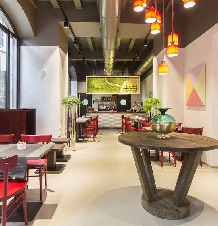 In the 4-star hotel designed by Cibic in Milan, you can even take the furniture home