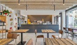 A restaurant and incubator of ideas where you can eat,…
